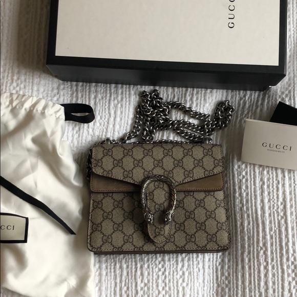 8f551b7b54d4a5 Gucci Bags | Mini Dionysus Gg Supreme Shoulder Bag | Poshmark